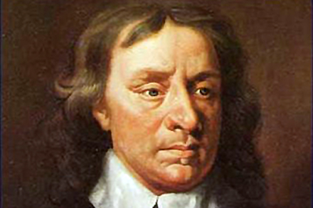 Oliver Cromwell finds your Christmas cheer decadent and suspiciously papist