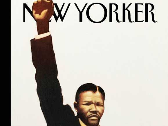 The New Yorker magazine's front cover