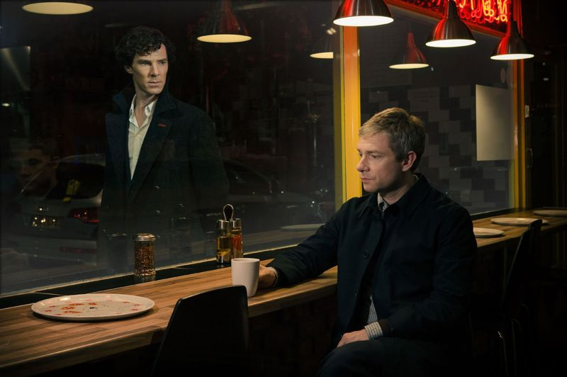 Benedict-Cumberbatch-playing-Sherlock-Holmes-left-and-Martin-Freeman-playing-Dr-John-Watson-from-the-new-series-of-2676383