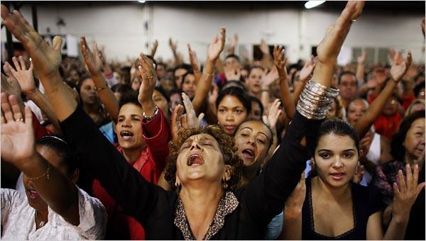 Pentecostal-worship
