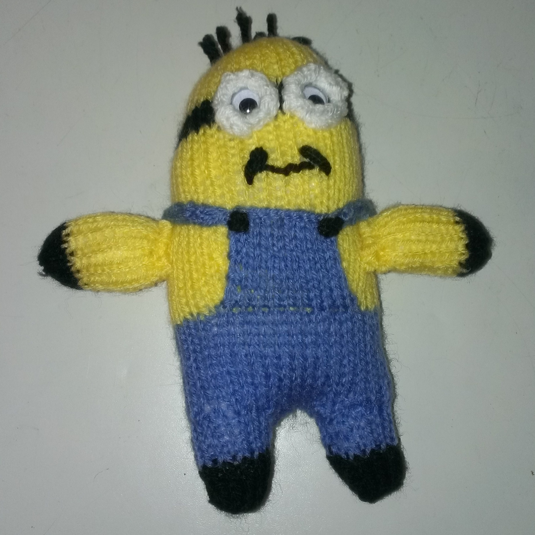 Knitting Pattern Minion Despicable Me : Despicable Me Matter Of Facts Page 2