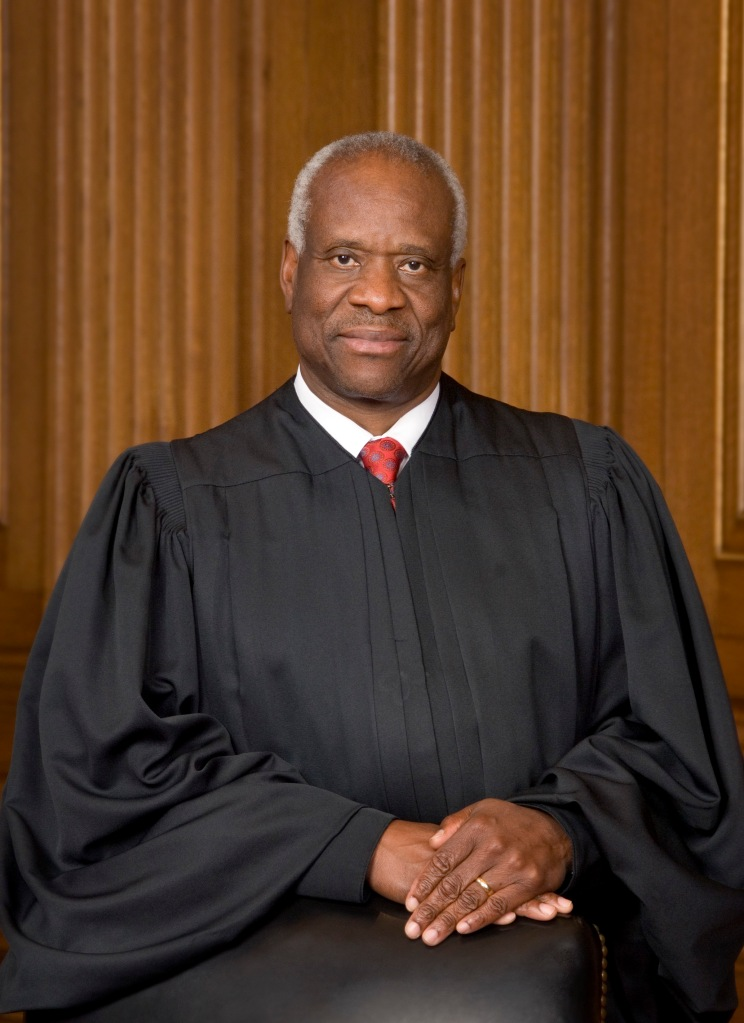 Justice Clarence Thomas - the quiet man